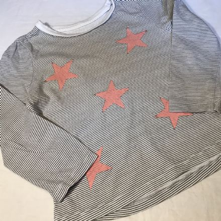 18-24 Month Year Star Stripe Top